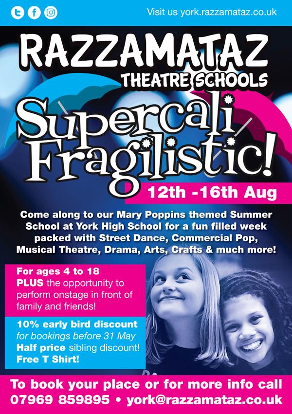 Summer School approved advert - York